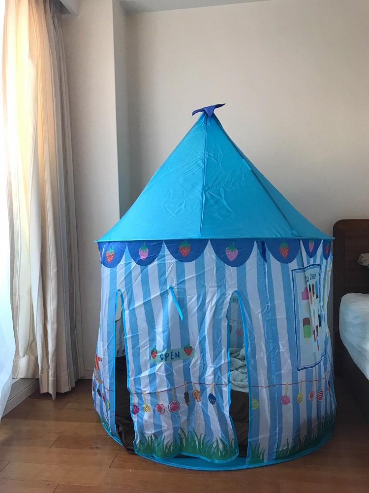 フライングタイガーのテント